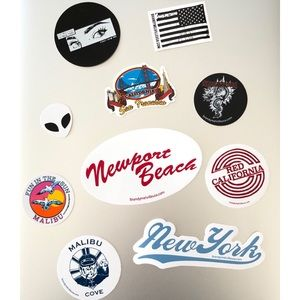 BRANDY MELVILLE Stickers (25 Pieces)